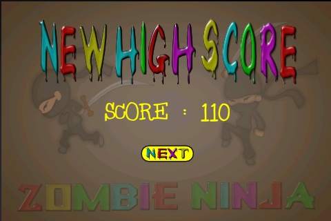 Screenshot Zombie Ninja